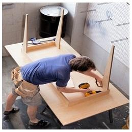 Сборка столов по низким ценам в Тамбове от специалистов