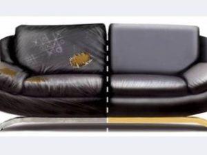 Перетяжка кожаного дивана в Тамбове