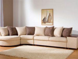 Перетяжка углового дивана на дому в Тамбове